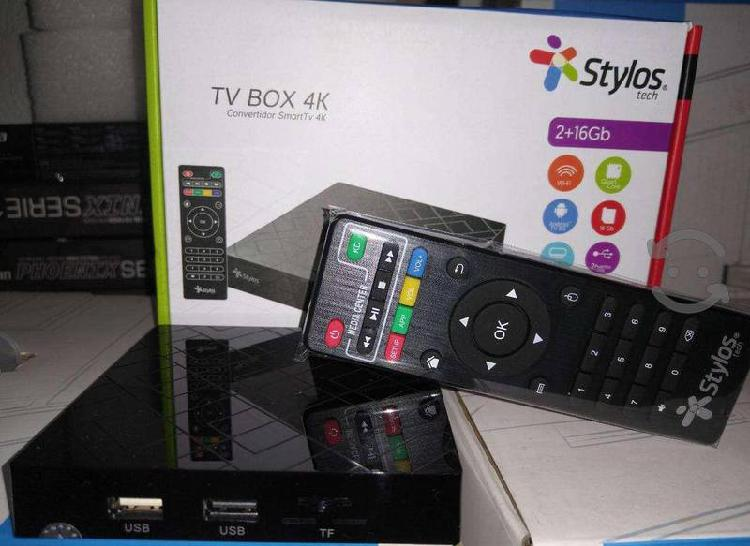 Android tv box stylos 2gb ram 16gb android 9.0disf