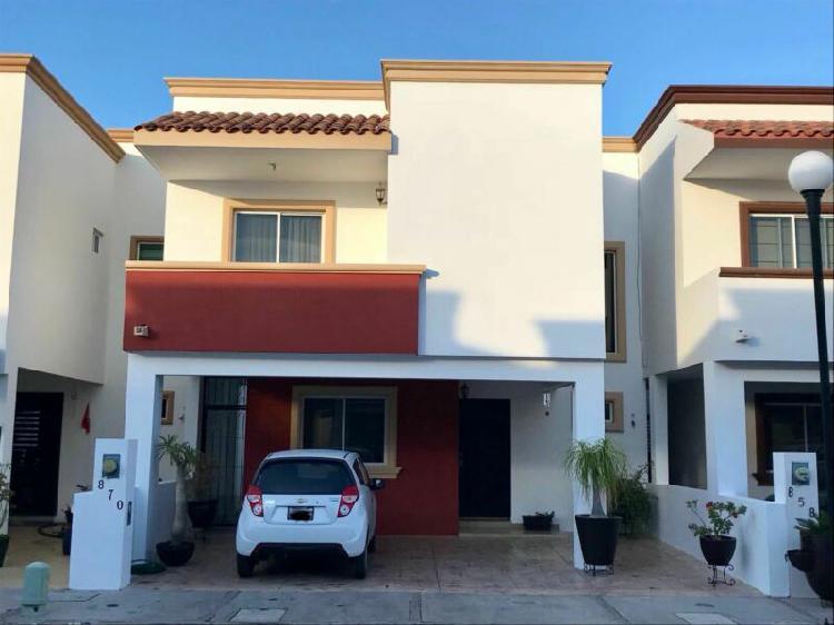 Casa renta amueblada privada quinta real