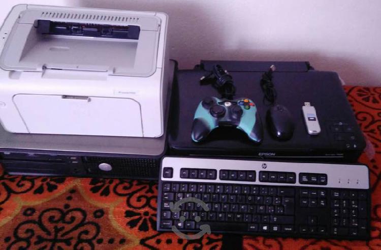 Cpu, escáner e impresora láser