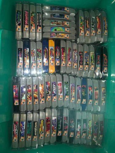 Colección completa de juegos de nintendo 64 (n64)
