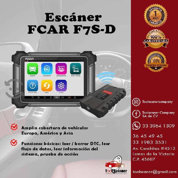 Escaner fcar f7s-d