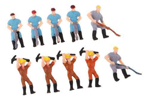 Figura de acción de los trabajadores de 1/75 modelos