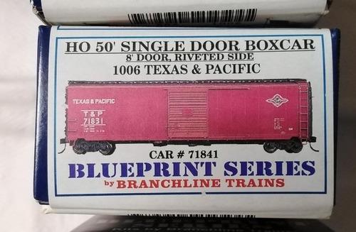 Ho 50 single door boxcar kit incompleto
