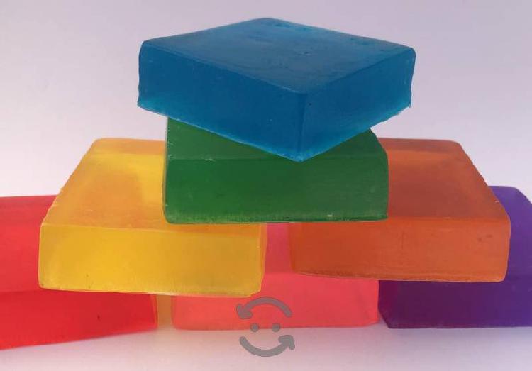Jabón artesanal antibacteriano- 20 piezas $199