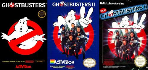 Juegos ghostbusters i, il & n il nes pc/android windows 7/10