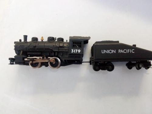 Locomotora de vapor 0-4-0 union pacific 1/87 ho tren