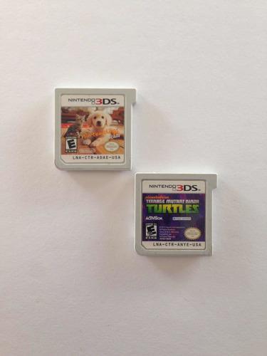 Lote De 2 Juegos Para Nintendo 3ds