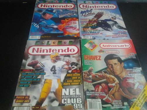 Lote revistas esports 90s club nintendo / venden x separado