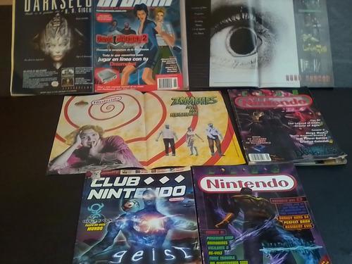 Lote revistas horror 90's club nintendo / venden x separado