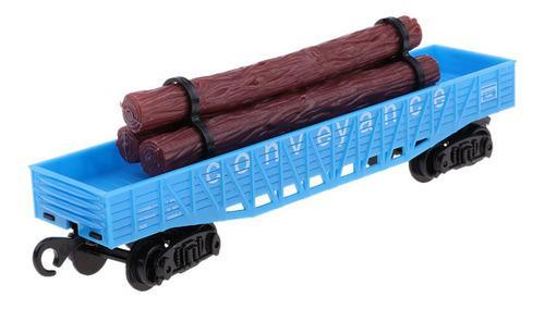 Mini juguetes modelo tren de carga hecho de plástico varios