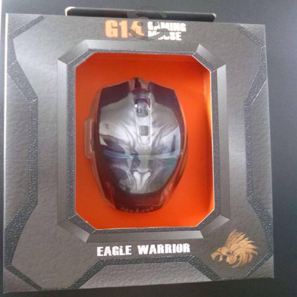 Mouse gamer usb optico eagle wrrior g14 para pc