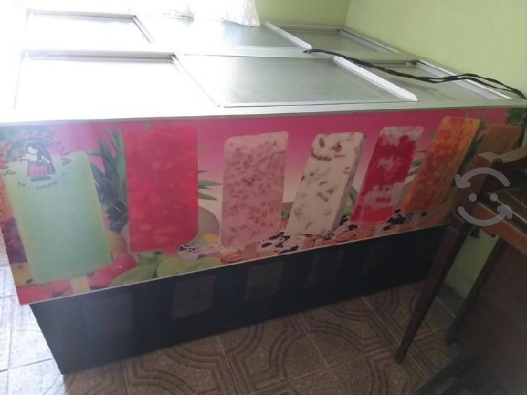 Refrigerador para paletas, helados o agua fresca