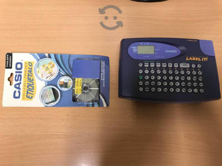 Rotulador casio ez-label printer kl-60