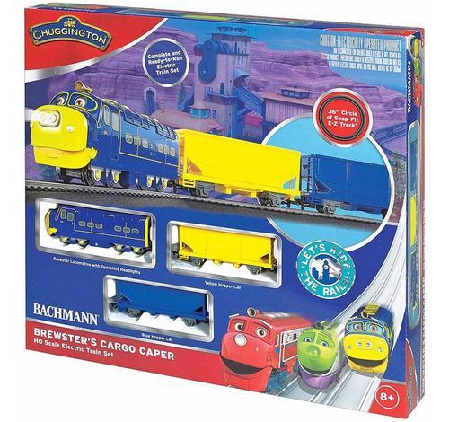 Set tren electrico bachman brewsterr´s cargo ho chuggington