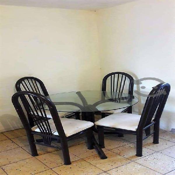 Venta comedor 4 sillas