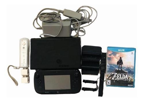 Wii u de 32 gb con juegos, control y wii motion plus
