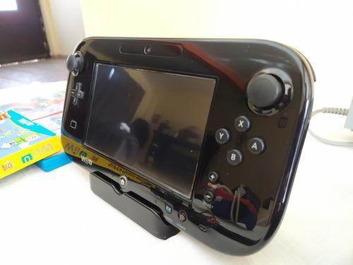 Wii u deluxe 32 gb + 4 jgos físicos + control excelente edo