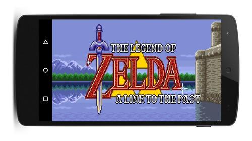 Zelda a link to the past super nintendo + 10 juegos android