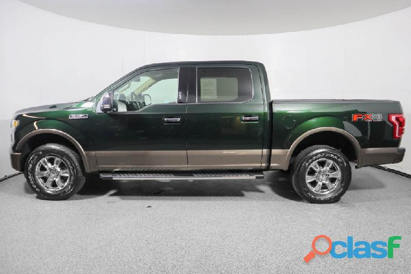 FORD F150 AÑO 2014 LARIAT VERDE
