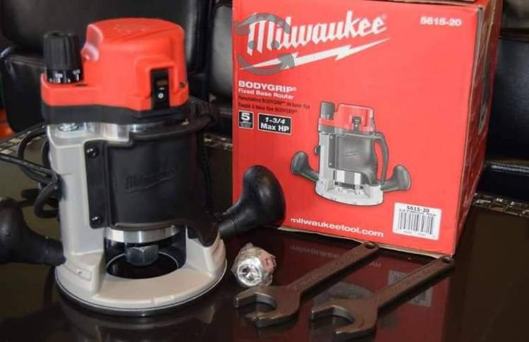 Router milwaukee 1 3/4 hp