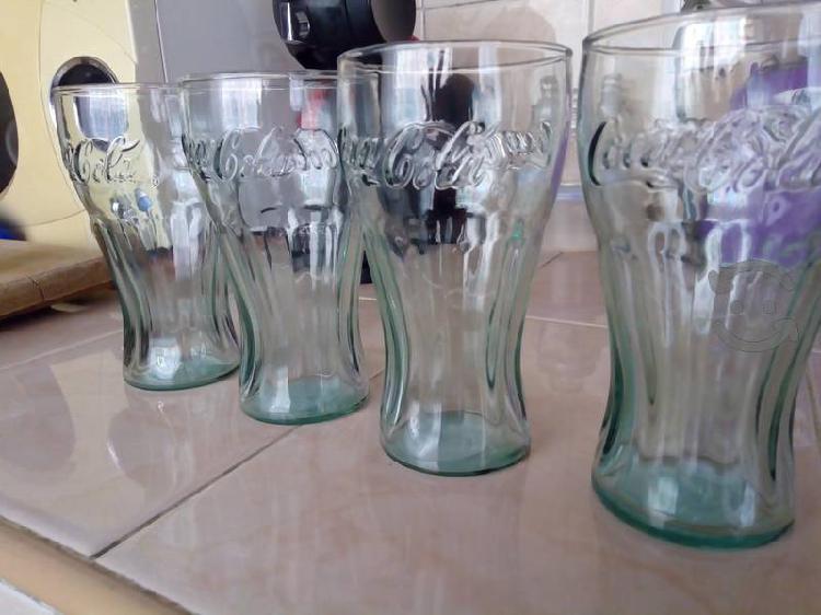 Vasos coca cola vidrio verde