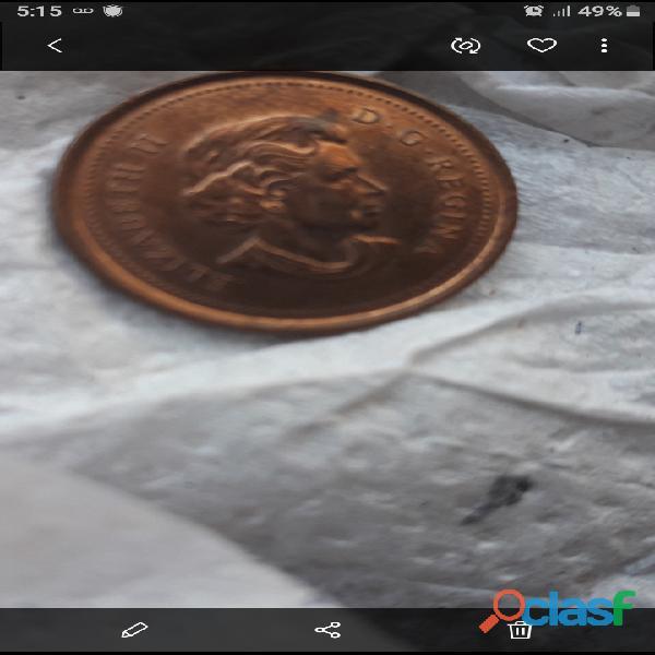 Vendo monedas penys de varios lugares