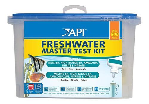 Api master kit test para acuario agua dulce