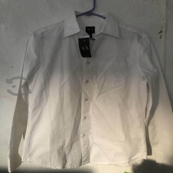 Camisa armani exchange talla s nueva