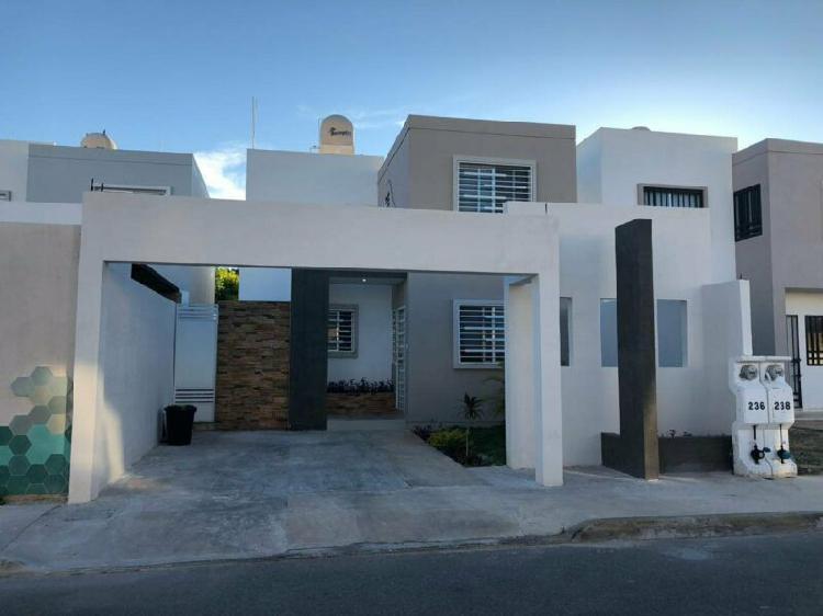 Casa remodelada, equipada y amueblada en gran san pedro