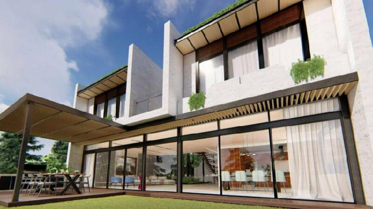 Increible residencia en venta bosque real