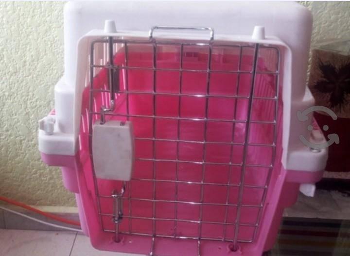 Jaula transportadora spc-01 para perro mediano y p