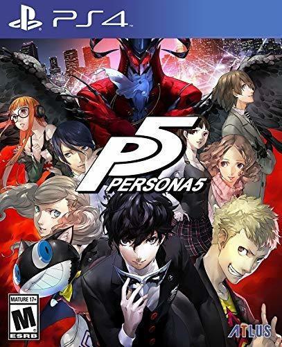 Juego persona 5 para playstation 4 nuevo y sellado