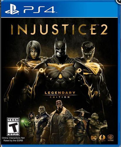 Juego ps4 injustice 2 legendary edition excelente condición