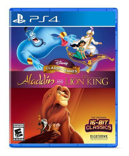 Juegos clásicos de disney: aladino y el rey león -