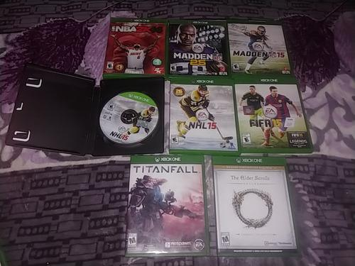 Juegos xbox one fifa 15 madden nba nhl titanfall the elder
