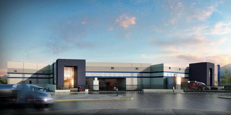Nave en parque industrial disponible en renta 4000 m2