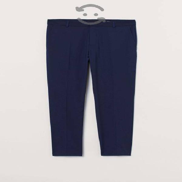 Pantalon hombre azul marino skiny fit talla 30 h&m