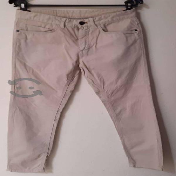 Pantalon zara beige talla 29 hombre