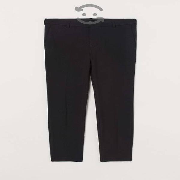 Pantalon para hombre skinny fit h&m negro talla 32