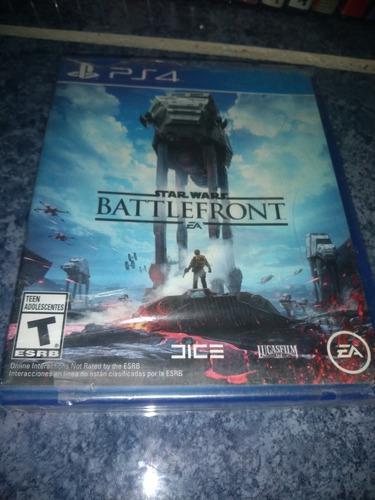 Playstation 4 ps4 video juego star wars battlefront nuevo