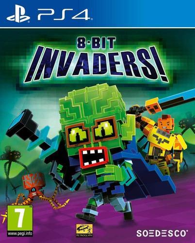 Ps4 - 8-bit invaders - juego fisico (mercado pago)