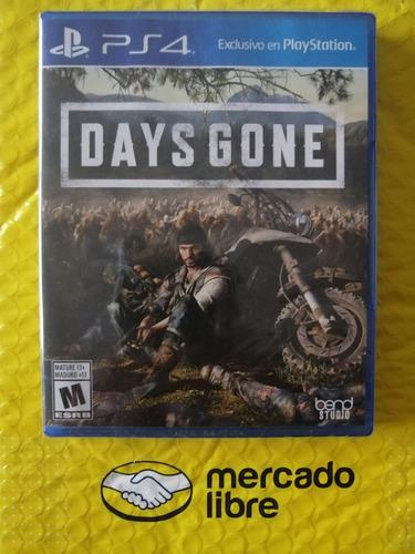 Ps4 juego físico days gone