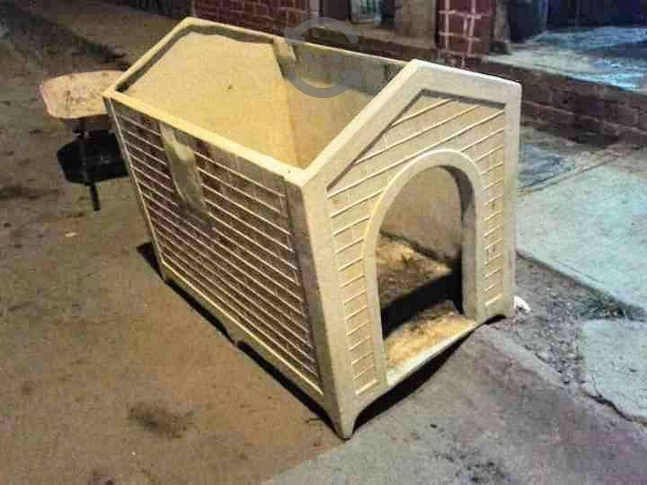 Remate!! casa para perro anti chinches/pulgas