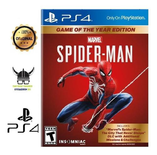 Spider-man: game of the year edition ps4 juego nuevo