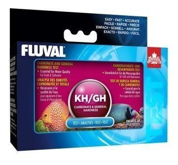 Test kh y gh fluval hagen agua dulce y salada