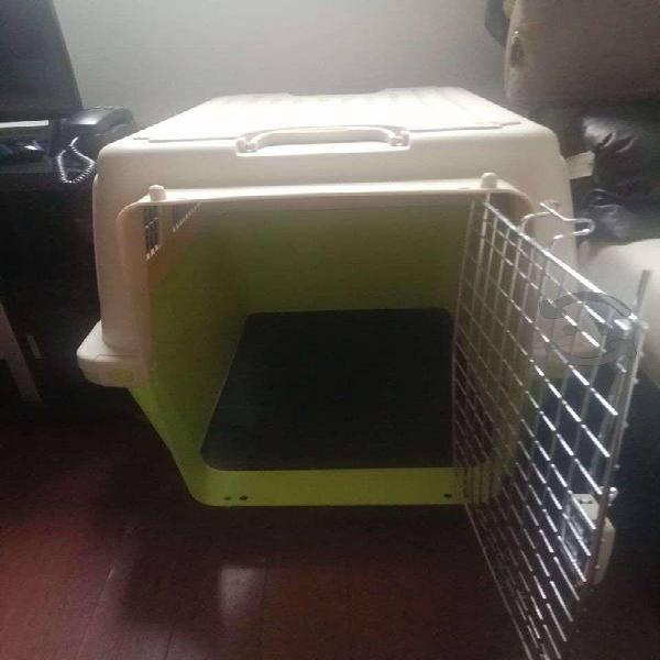 Transportadora kennel 80x56x58.5 cm