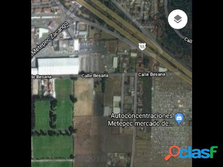 Terreno en Metepec