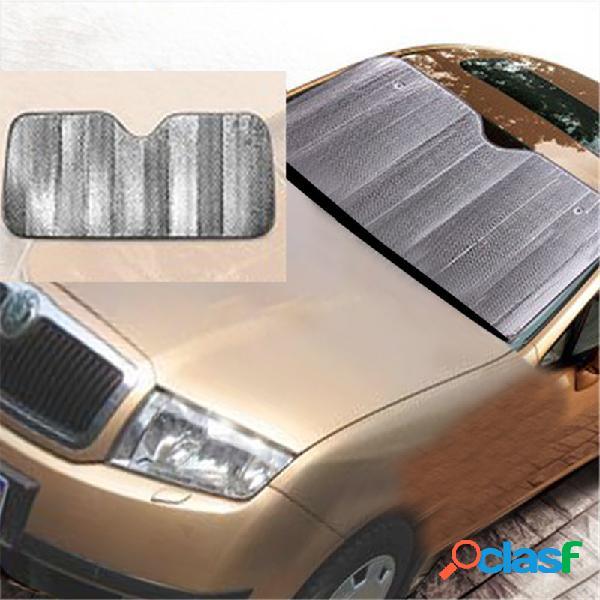 Auto car wind shield ventana frontal visor cubierta sombrilla silver foil