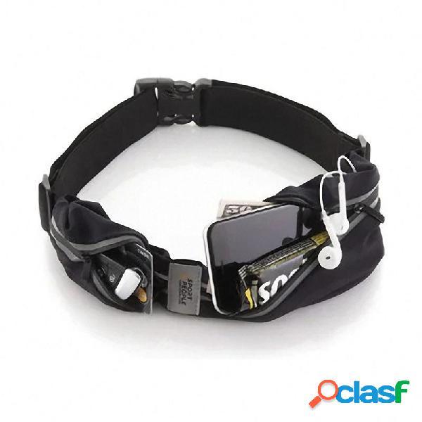 Bolsillo extensible del bolsillo del teléfono móvil de la correa portable de los deportes al aire libre extensibles