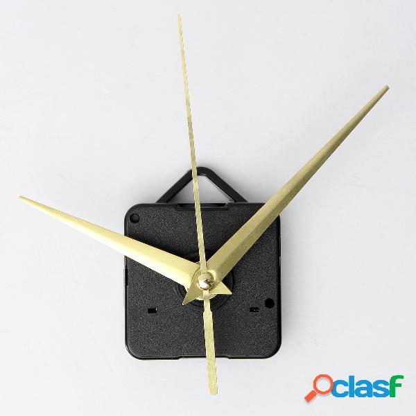 Bricolaje oro cuarzo reloj manos mecanismo de movimiento partes conjunto de herramientas